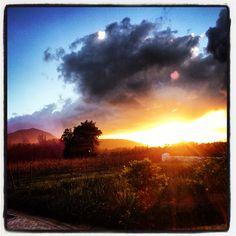 #Franschhoek #Sunset