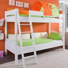 Massivholz Etagenbett In Weiß Weiß Jetzt Bestellen Unter: ...