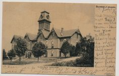 BARRIE, ONTARIO, CANADA, COURT HOUSE 1906