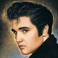 Elvis Presley - Rolling Stones # 3 out of 100 greatest artist of all time. Love this!