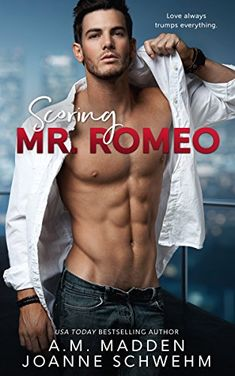 Romeo (The Mr. Wrong Series, by A. Madden and Joanne Schwehm - BookBub Ipod Touch, Trump Love, The Mister, Book Review Blogs, Award Winning Books, Excellence Award, Personalized Books, Cover Model, Romance Novels