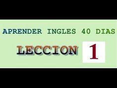 """Curso de inglés completo 1 - Inglés desde cero nivel básico para principiantes """"Yes en Ingles 1"""" - YouTube"""