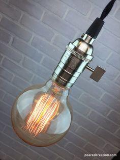 Desnudo lámpara colgante Lámpara Industrial  Edison bombilla