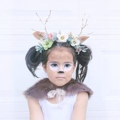 How gorgeous is @laurabsea's daughter in her fawn costume?! So perfect!! Keeping tagging us using #ministylehalloween for a chance to be featured today!