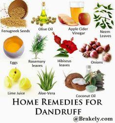 Brakely.com:Home Remedies for Dandruff