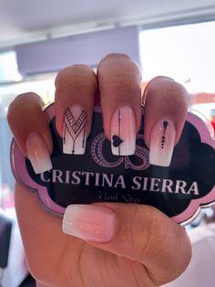 ideas for nails sencillas elegantes Best Acrylic Nails, Acrylic Nail Designs, Nail Art Designs, Pretty Nail Designs, Nails Design, Stylish Nails, Trendy Nails, Cute Nails, Pink Nails