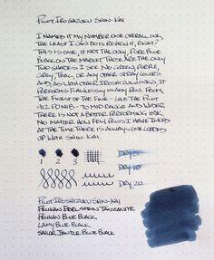 Pilot Iroshizuku Shin-Kai Ink Review — The Pen Addict