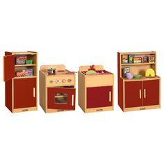 ELR-17504-XX: Colorful Essentials Play Kitchen - 4 Pc. Set