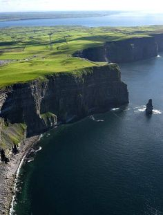 Cliffs of Moher, south-western edge of the Burren region in County Clare, Ireland.