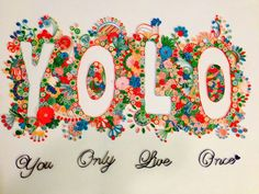 Quilling word