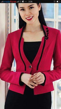 Blazers For Women Suits For Women Vestido Social Sweater Jacket Blazer Jacket Skirt Suit Business Attire Blouse Designs Designer Dresses Blazers For Women, Suits For Women, Clothes For Women, Lace Blazer, Women Church Suits, Indian Fashion Trends, Dress Suits, Business Attire, Work Attire