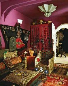 Afghani decor