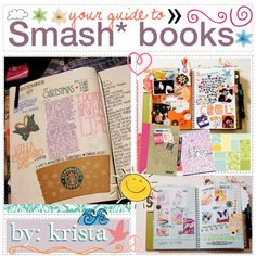Your Guide to Smash* books :) by superstar-tips on Polyvore featuring polyvore, картины, smashbook, book, smash, art and journal