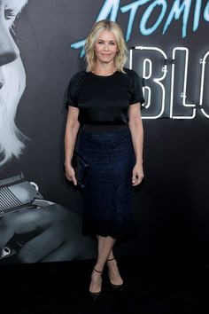 """Comedian Chelsea Handler attends Focus Features' """"Atomic Blonde"""" premiere at The Theatre at Ace Hotel on July 24, 2017 in Los Angeles, California."""