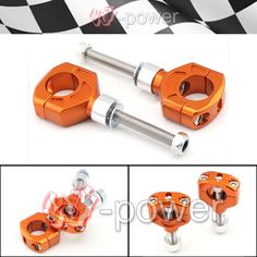 34.84$  Watch here - http://aihj2.worlditems.win/all/product.php?id=32773965246 - fite For KTM 690 HERZOG/ LC4 Enduro R/LC4 Supermoto/SMC-R Orange Motorcycle Aluminum Handlebar Clamp Riser mount height 40mm-50m