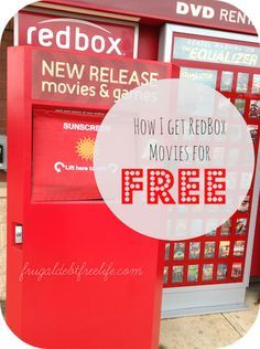How to get Redbox movies for free! All the links to codes, discounts and free movies.