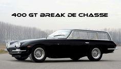 Lamborghini 400 GT 2+2 shooting break, break de chasse