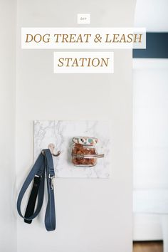 The kitchen is the heart of our home and where memories are truly made. Extend your kitchen to other areas of the house and keep your pup's delicious treats organized and ready to go with this chic treat station. Get the full tutorial Dog Station, Organization Station, Kitchen Organization, Home Design Diy, Diy Dog Treats, Do It Yourself Crafts, Pinterest Diy, Diy Home Decor Projects, Decorating Small Spaces