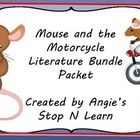 This bundle includes everything you need to supplement reading the book The Mouse and the Motorcycle.  I have included in this packet information a...
