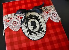 One Lucky Day: Silhouette gift tags