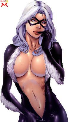 Black Cat Marvel Hot   emma frost quentin tarantino steven spielberg jean grey felicia hardy