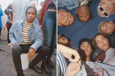 This Upcoming A$AP Rocky x GUESS Collaboration Takes You on a Trip to the 90s   15jn16