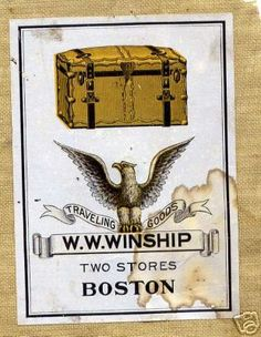 winship wardrobe trunk ad