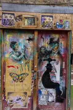 Street Art & Graffiti, Murals in Brick Lane, Shoreditch