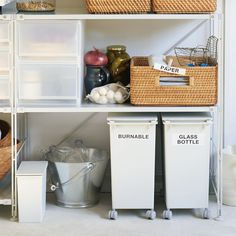 Muji PP Stackable Dust Bins