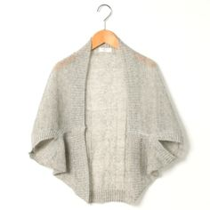 Super-simple shrug - just a rectangle fastened in two places, as shown. I