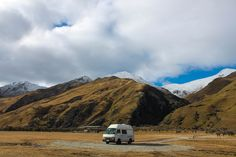 vanlife moke lake campsite new zealand nz queenstown