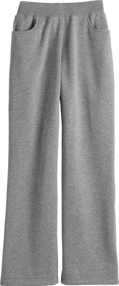 Women's Souped-Up Sweatpants from Duluth Trading Company are made of pre-washed 10-oz. cotton/polyester fleece and loaded with five roomy pockets.  Various colors
