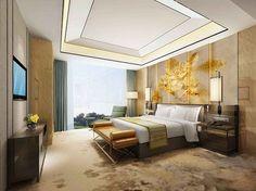 Bedroom False Ceiling Design, Luxury Bedroom Design, Master Bedroom Interior, Modern Master Bedroom, Home Bedroom, Interior Design, Mansion Bedroom, Plafond Design, Walking Closet