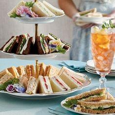 Summer tea party.