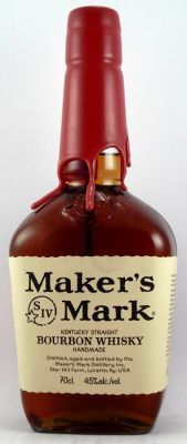 Makers Mark Bourbon Whiskey 45% The bourbon of choice at UK fraternity houses in the late '60's.