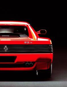 A Myth: Ferrari Testarossa.
