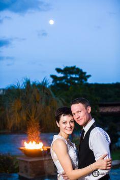 Moonlight Romance. Austin Wedding Photography; Mike Reed Photo