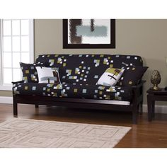 modern blocks full size futon cover the cheerful damask pattern on this polyester futon cover brings a      rh   pinterest