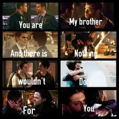 I love all the bromances except for the last one ❤❤❤