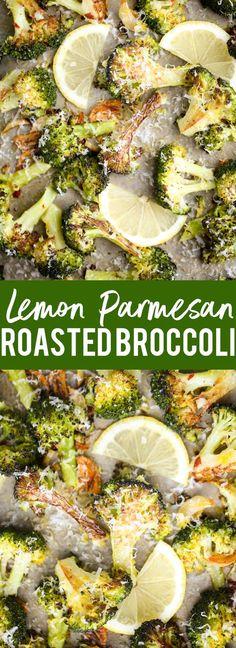 This easy Lemon Parmesan Roasted Broccoli is the best way to eat broccoli ever! … This easy Lemon Parmesan Roasted Broccoli is the best way to eat broccoli ever! Side Dish Recipes, Veggie Recipes, Vegetarian Recipes, Dinner Recipes, Cooking Recipes, Healthy Recipes, Vegetarian Barbecue, Parmesan Recipes, Veggie Food