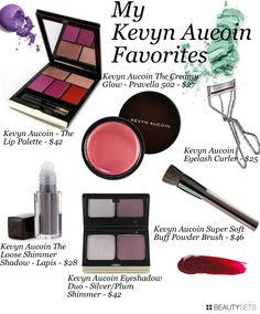 My Kevyn Aucoin Favorites