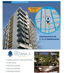 Apartamentos de 2, 3 y 4 habitaciones . Rooftop, Gimnasio, Area de niños. - Publicidad