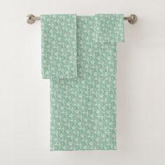 Aloha Bath Towel Set - diy cyo personalize design idea new special