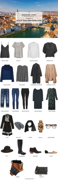 livelovesara - My life in a blog by Sara Watson. Packing list: Italy and Switzerland- Winter 2016