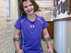 7-year-old Boston bombing victim dancing with new leg
