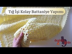 İn this video I'm going to show you how to crochet an easy baby blanket. Easy Baby Blanket, Baby Blanket Crochet, Crochet Baby, Crochet Blankets, Easy Crochet, Arm Warmers, Make It Yourself, Clothes For Women, Knitting