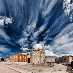 Main square dominated by the church of St. Donat / Zadar / Croatia #croatia #hrvatska
