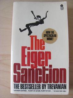 Vintage paperback novels | Vintage Paperback Book The Eiger Sanction Trevanian…