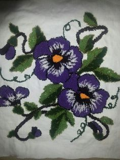 Panç nakışı yastık Punch Needle, Rug Hooking, Embroidery Patterns, Needlework, Sewing, Blog, Crafts, Layette, Hand Crafts