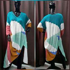 Купить Вязанное платье в стиле Бохо. - платье, вязание на заказ, вязание спицами, мохер